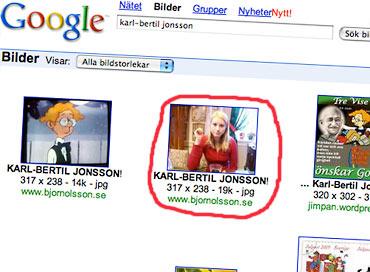 Julia är inte Karl-Bertil Jonsson!