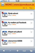 iPhone-tema
