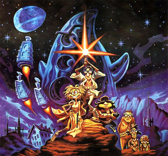 Underbart sköna spelet Day of the Tentacle ser jag gärna som LucasArts nästa Special Edition-spel.