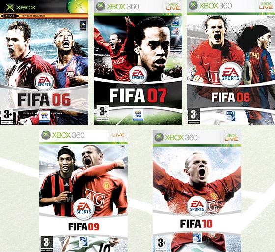 FIFA-omslagen, en bildstudie i Wayne Rooneys eskalerande tunnhårighet?