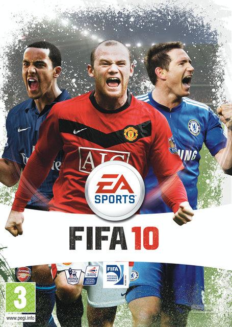 Rätt omslag till FIFA 10.
