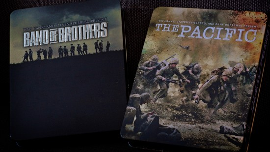 Band of Brothers och The Pacific.