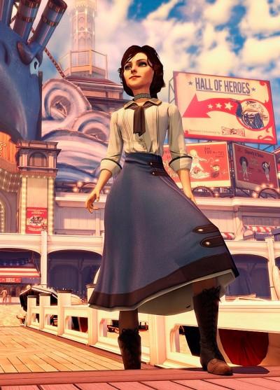 Elizabeth är en välskriven karaktär och en följare som förhöjer spelupplevelsen.