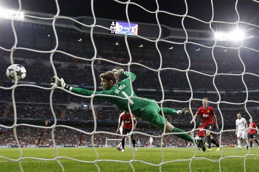 David De Gea visade sin klass mot Real Madrid.
