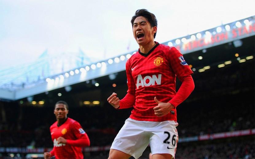 Shinji Kagawa hade problem med skador, men glimmrade även emellanåt och blev den första asiatiske spelaren att göra hattrick i Premier League.