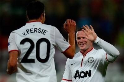 Robin van Persie och Wayne Rooney kunde spela tillsammans, även om Rooney gjorde en svagare säsong än den förra.