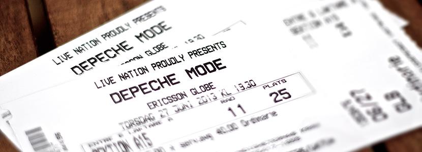 Depeche Mode-biljetter