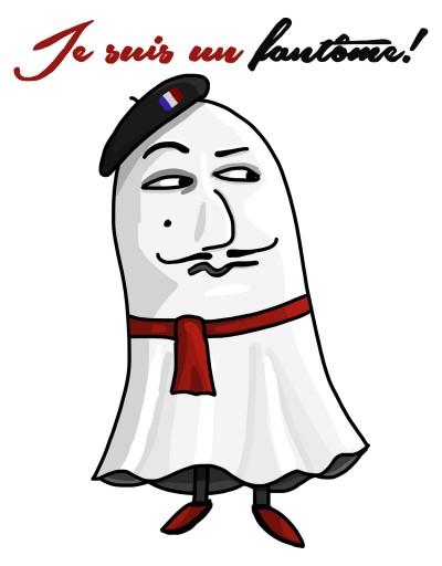 Je suis un fantôme