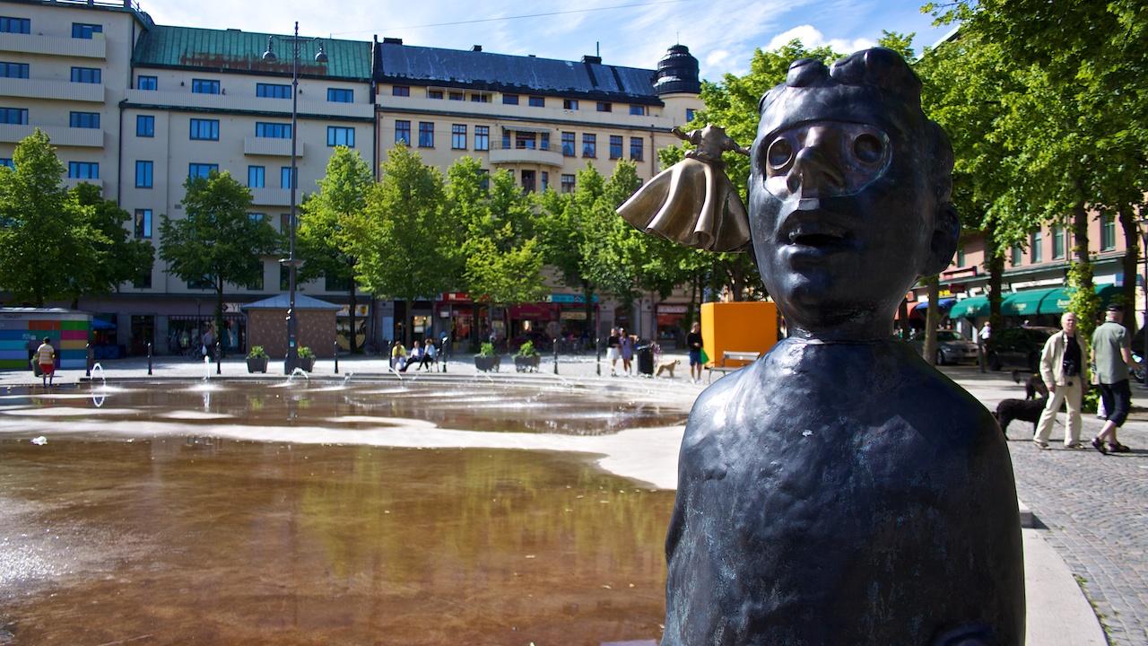 staty på järntorget göteborg