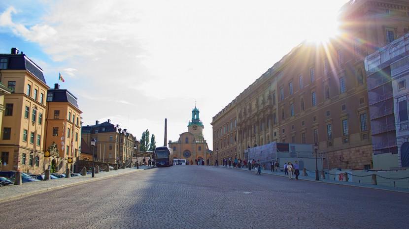 Precis som i Göteborg så hade vi väldigt fint väder under vår Stockholmsvistelse.