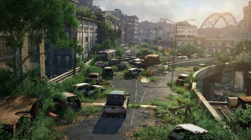 The Last of Us bjuder på fantastiska miljöer.