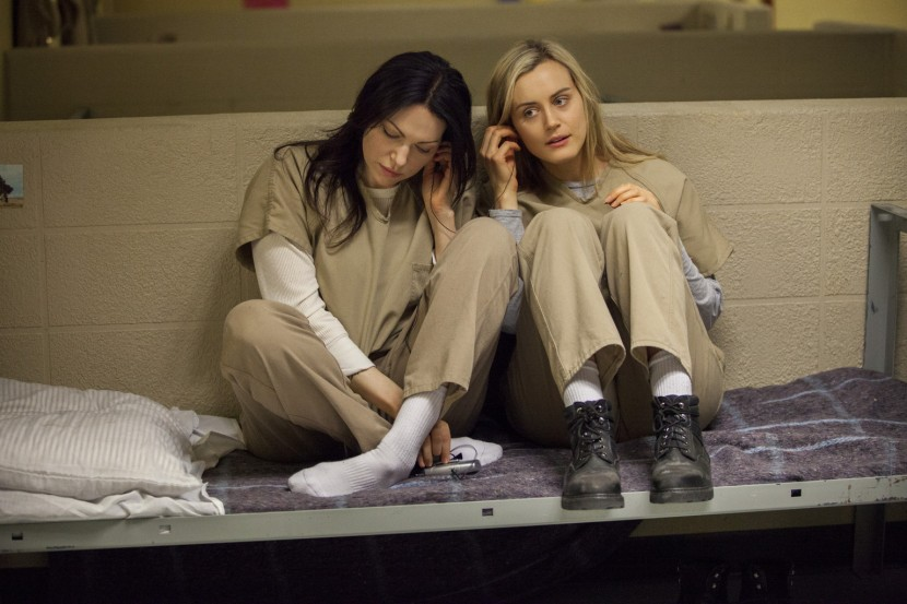 Laura Prepon och Taylor Schilling i Orange Is the New Black.