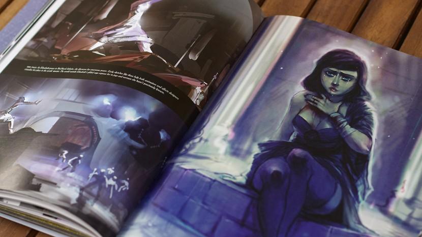 Elizabeth genomgick många förändringar innan hon till slut fick det utseende som syns i spelet.