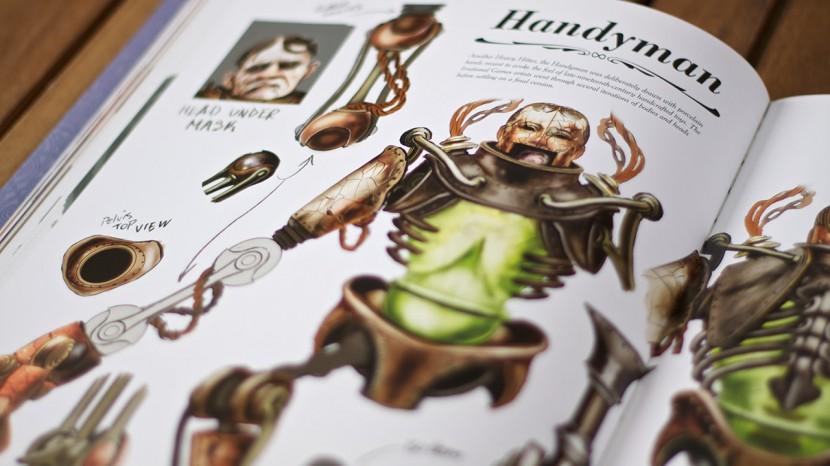 Hur är en Handyman uppbyggd? En del svar finns att få i boken.