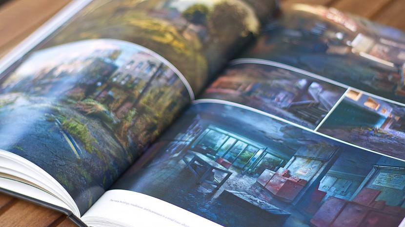 Miljöerna i spelet, och i boken, är varierande.