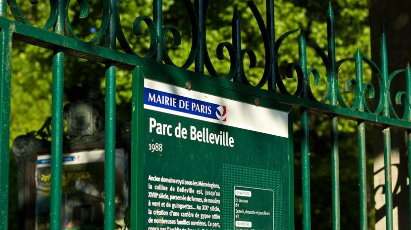 paris_parcdebelleville_skylt