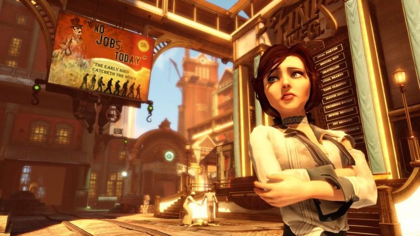 Bioshock Infinite hade ett fantastiskt slut och var vackert rakt igenom.