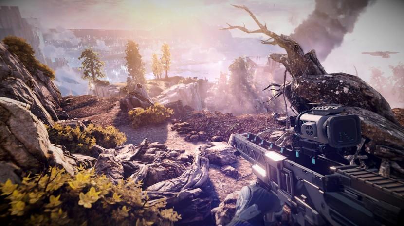 Ett ljusare, och mycket vackert, Killzone Shadow Fall.