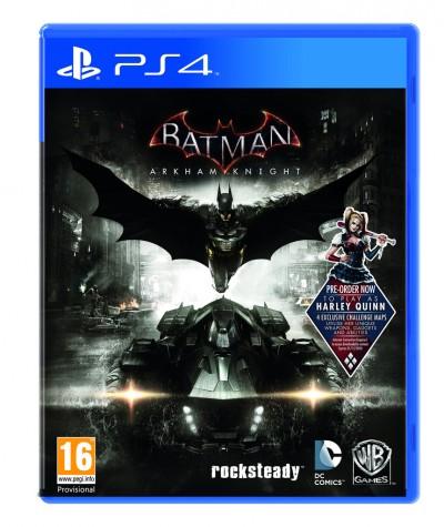 Omslaget till Batman Arkham Knight.