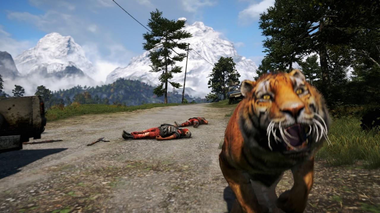 I bland känns det som att hela Kyrat är ute efter att ta ihjäl dig. Ajay överlevde inte många sekunder efter jag tagit denna bild.
