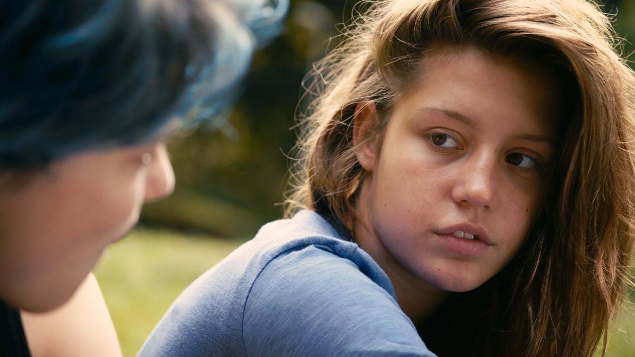 Fantastiska Adèle Exarchopoulos i Blå är den varmaste färgen.