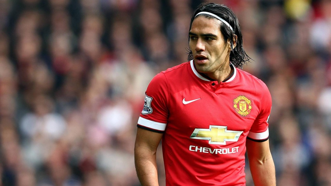 Det blev bara en säsong och fyra mål i Manchester United för Falcao.