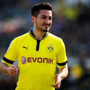 İlkay Gündoğan, skadedrabbad mittfältare från Borussia Dortmund.