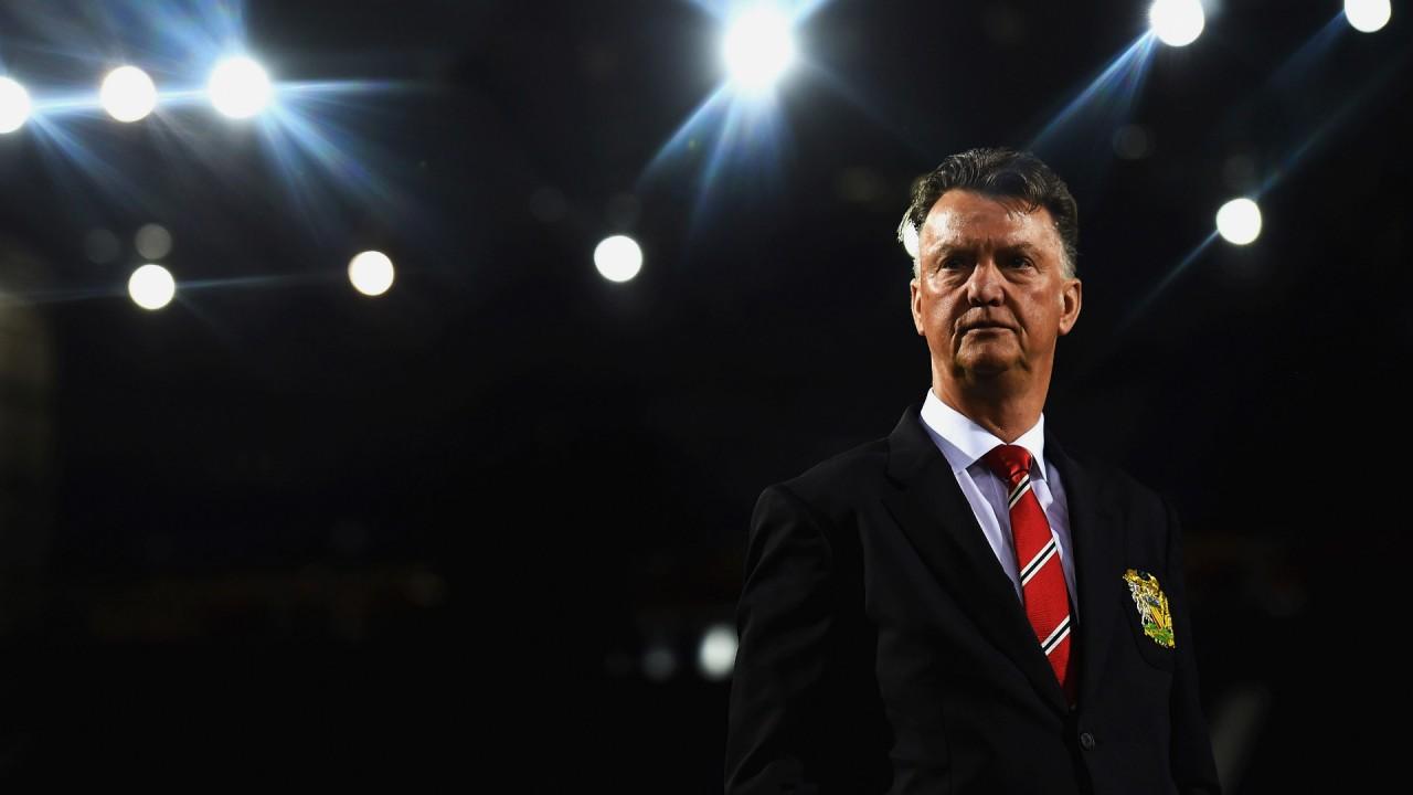 Louis van Gaal tog över efter Sir Alex Ferguson.