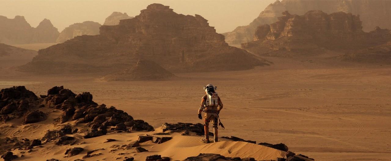 Det ser lite ensamt ut på Mars.