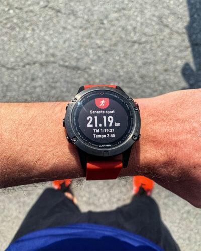 Klocka som visar 1:19:37